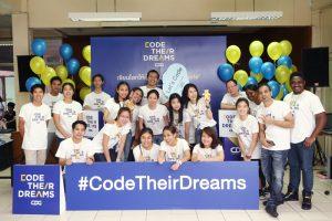 CDG บริษัทไอทีชั้นนำ ผู้ริเริ่มโครงการ Code their Dreams